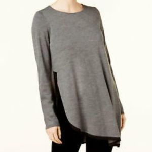 Eileen Fisher Sweater Tunic Long Sleeve PS